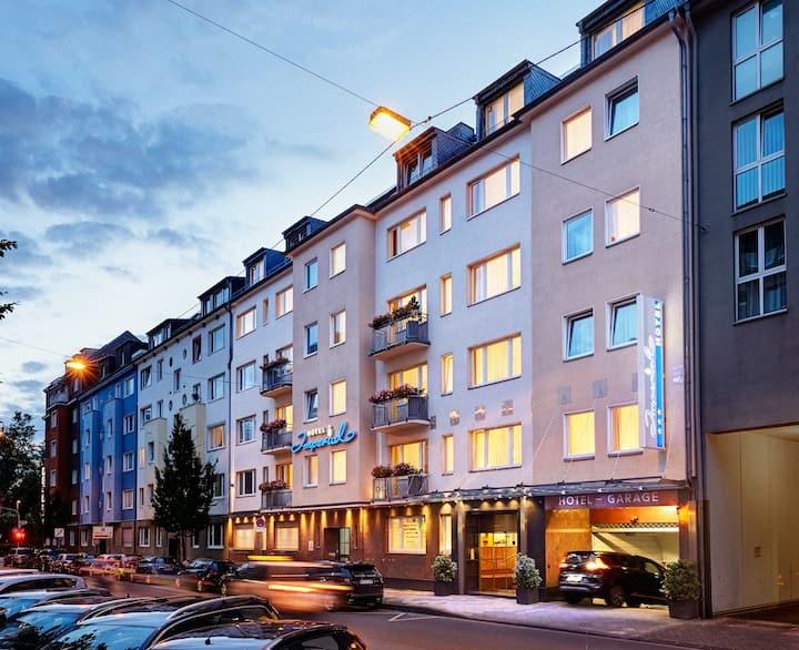 City Zimmer 2 im Herzen von Düsseldorf