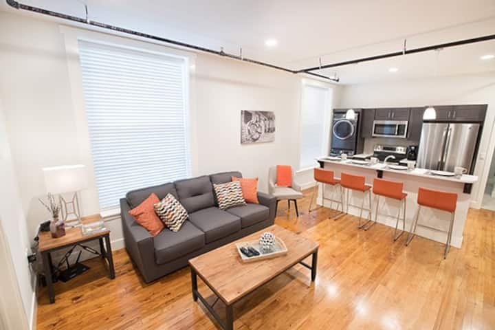 Brand New Modern Apartment on Water Street, Unit 3