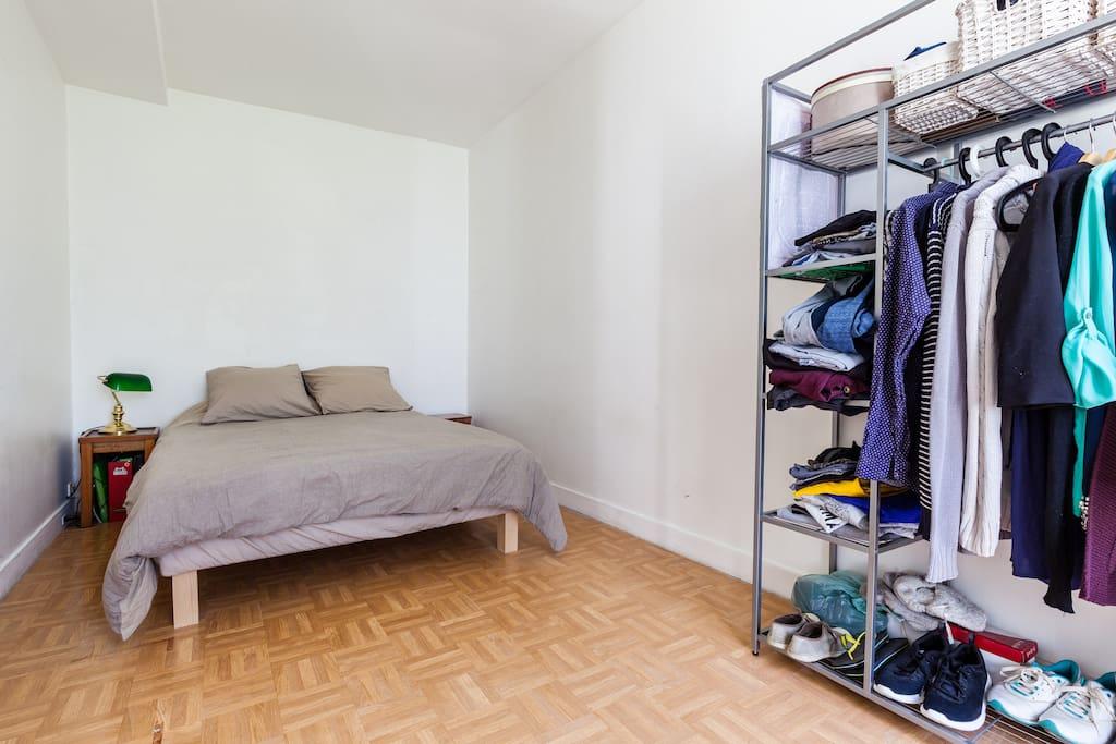Chambre : Lit double 140x200