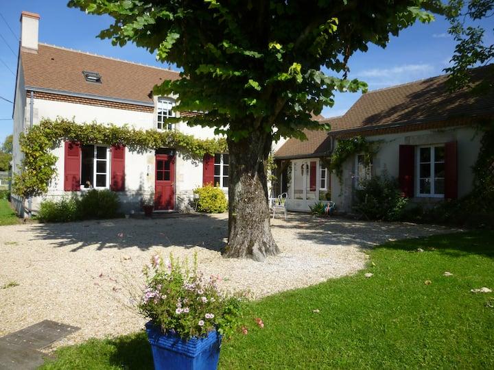 Logement au calme dans maison vigneronne
