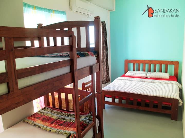 Family Room - Sandakan Backpackers Hostel