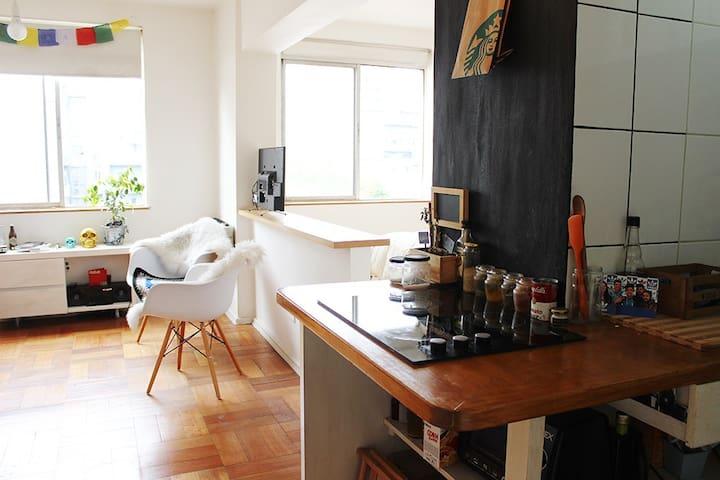 BELLAS ARTES - DOWNTOWN. ¡BEST TOURIST PLACE! - Santiago - Appartement en résidence