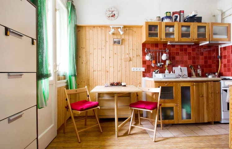 Cosy studio in green, safe area, close to downtown - Budapest