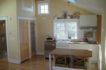 Closet, pantry, kitchen island