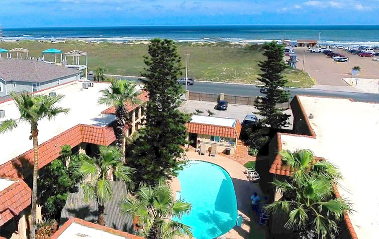 **Steps From The Beach** 2 Bd/2 BA Private Condo