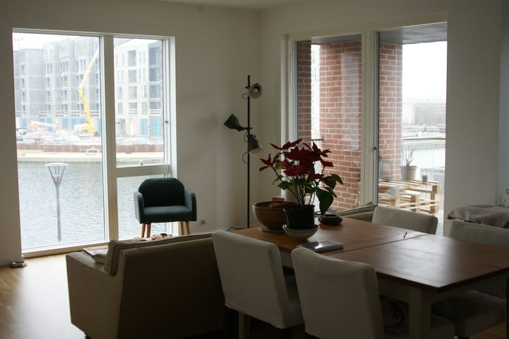 Hyggeligt bedroom by the water - København - Apartment