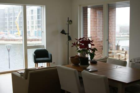 Hyggeligt bedroom by the water - Copenhagen - Apartmen