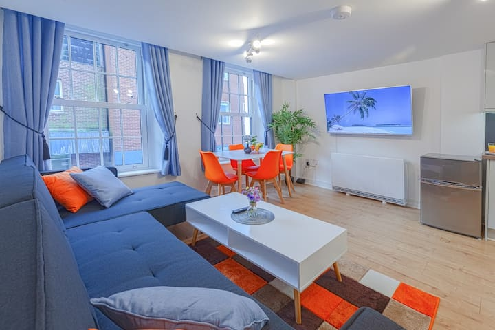 Central Apartment With 55'' Smart TV, Netflix