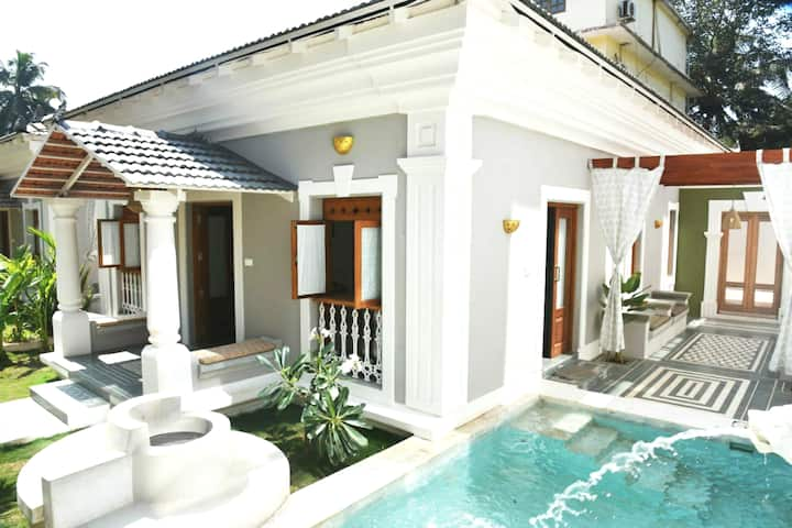 3BR MINIMALIST VILLA|BAGA🏝️|PRIVATE POOL|BBQ|WIFI
