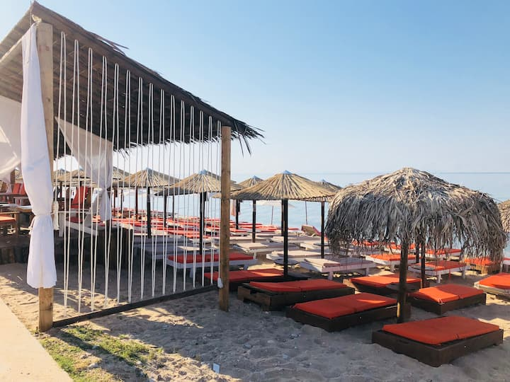 Ofrinio beach, Kavala, Greece
