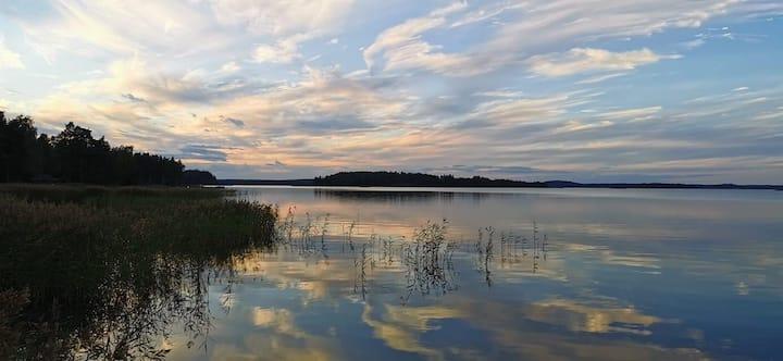 Honeyhill Villa Karhu. Sea Golf Rönnäs