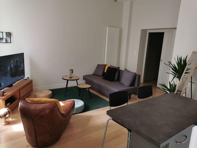 Appartement cosy au pied du port. 50m2