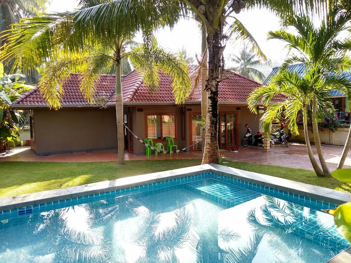 Taling nam 2 bed house with pool