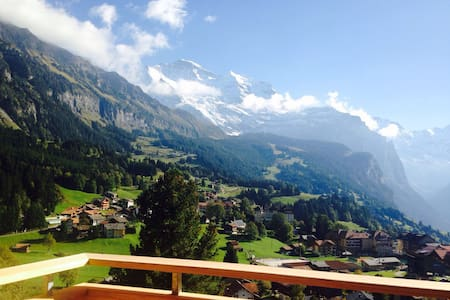 Apartment on the sunny side of Wengen - Lauterbrunnen - Wohnung