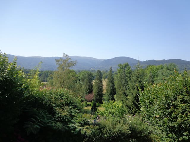 Quiet in nature facing mountains 1-English Spanish - Serres-sur-Arget - Guesthouse