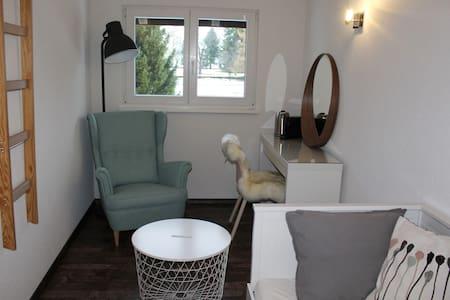 Chambre cosy avec salle de bain privée