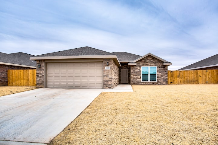 New Construction Home Minutes from Texas Tech!