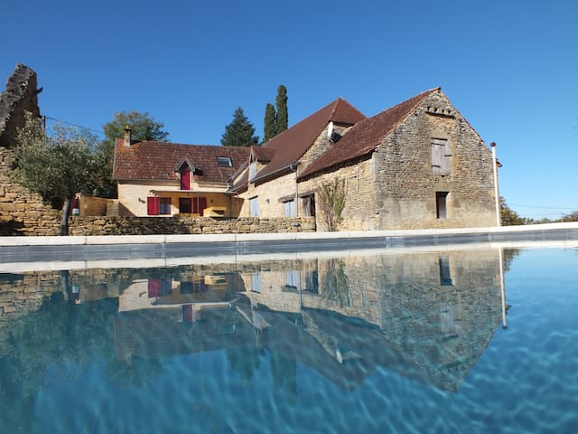 Clos Lamonzie - 4 bedroom house - heated pool - Sarlat-la-Canéda - House