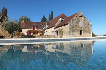 Clos Lamonzie - 4 bedroom house - heated pool - Sarlat-la-Canéda - Talo