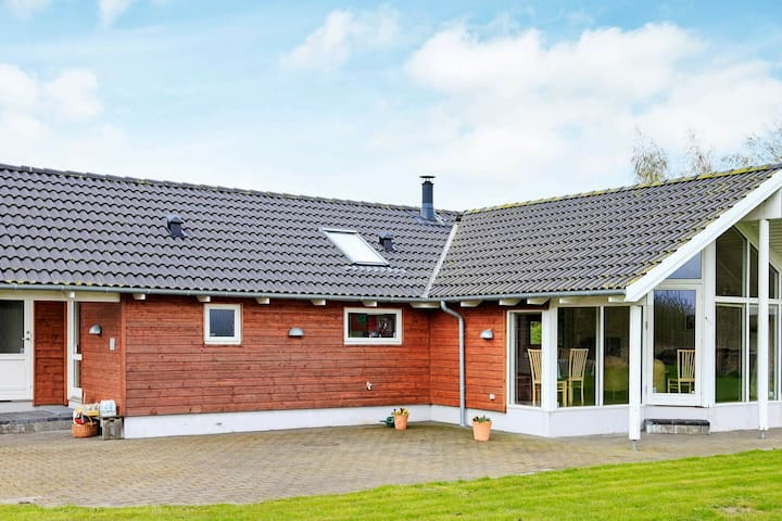 Garden-View Holiday Home in Falster with sauna