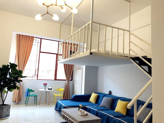 不舍loft复式公寓.7