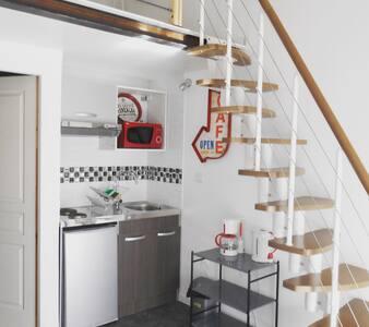 Studio duplex avec jardin et piscine ! - Chasseneuil-du-Poitou