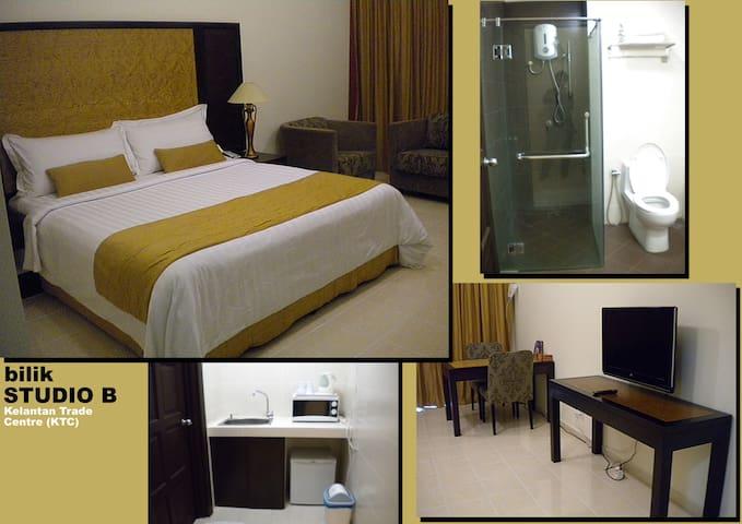Studio Apartment B @ KTC Kota Bharu - Kota Bharu - Apartamento