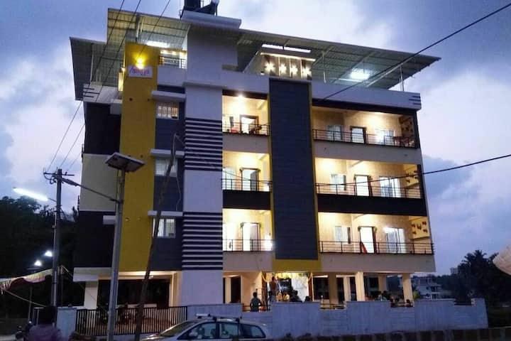 aikya 2BHK Service Apartment Bejai, Mangalore