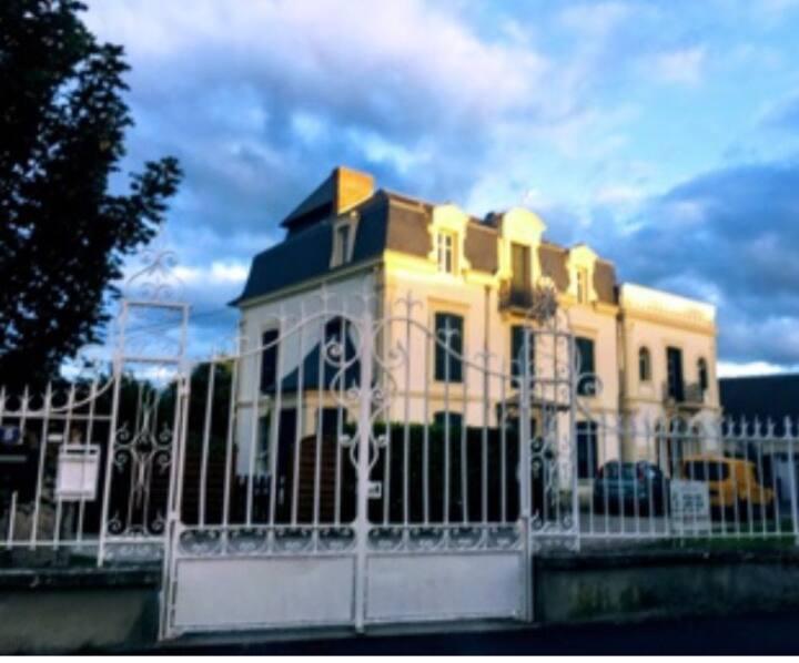 Cabourg: Séjour dans Maison de Maître du 19ème.