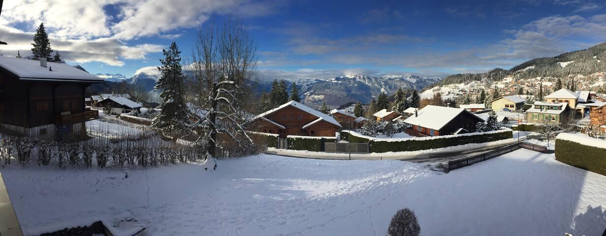 Magical Villars Mountain Apartment