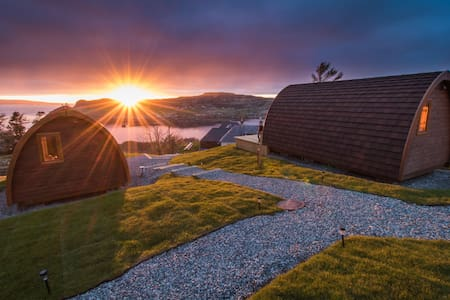 The Cowshed Boutique Bunkhouse Pods - Uig
