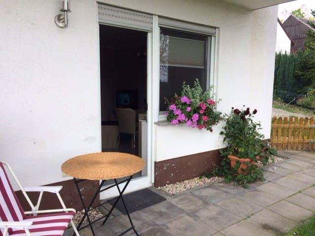 Ferien im Grünen (4Per.,1D-Bett,1Schlafsofa)