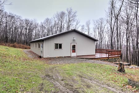 Secluded 2BR Newfield Home on 10 Leafy Acres - Newfield - House