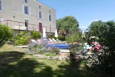 Marais Poitevin : maison avec vue