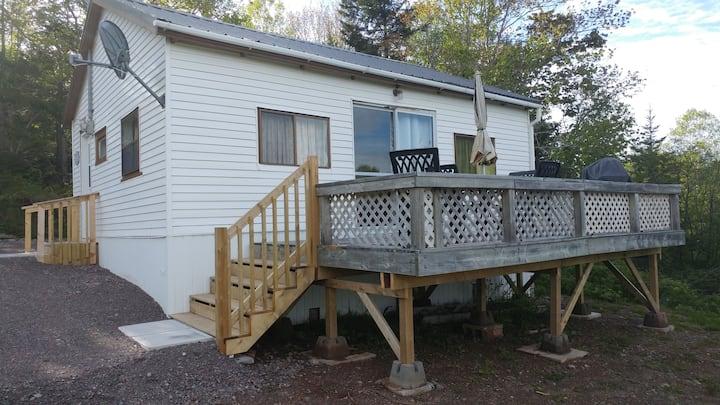 Cottage on Minas Basin, Parrsboro, Nova Scotia.