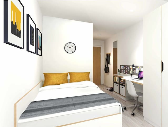 Cosy en-suite room, Bristol City Centre - Bristol - Apartment