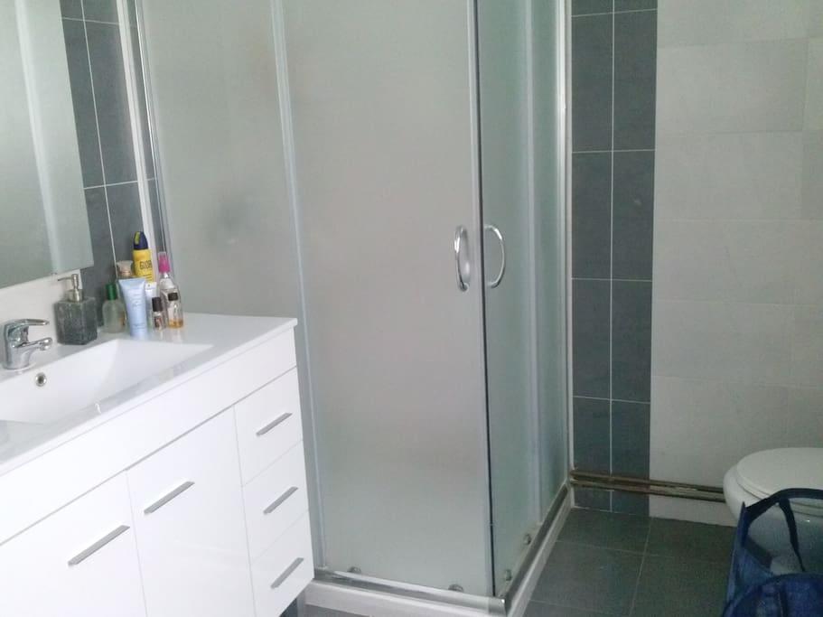 La salle de bains, temps de detente.