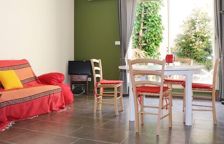 Appartement au charme d'une maison vigneronne