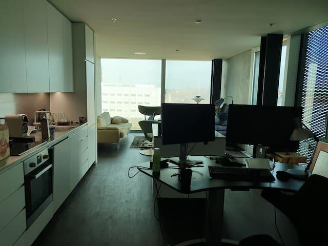 Blox, bedroom in incredible apartment