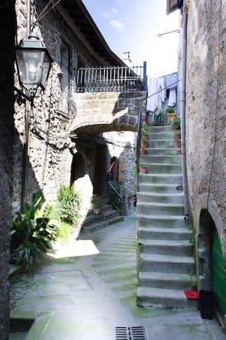Casa nel Borgo di Rò - Mazzano Romano - Apartmen