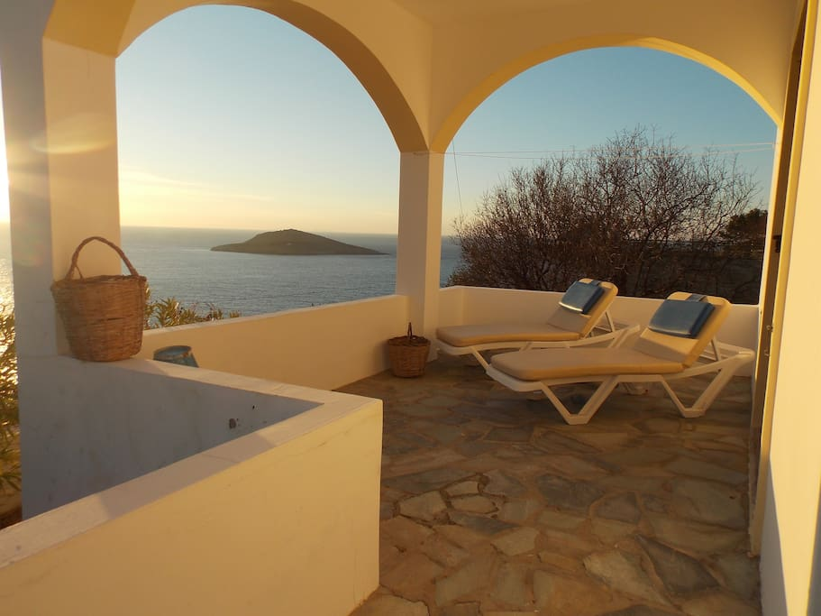 Terrace with view!