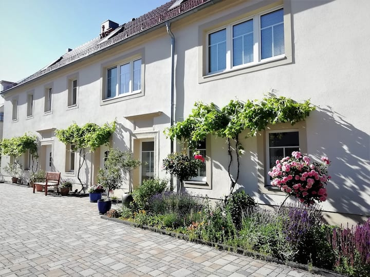 """Ferienhof Gräfe - Fewo """"Landliebe"""" mit Pool"""