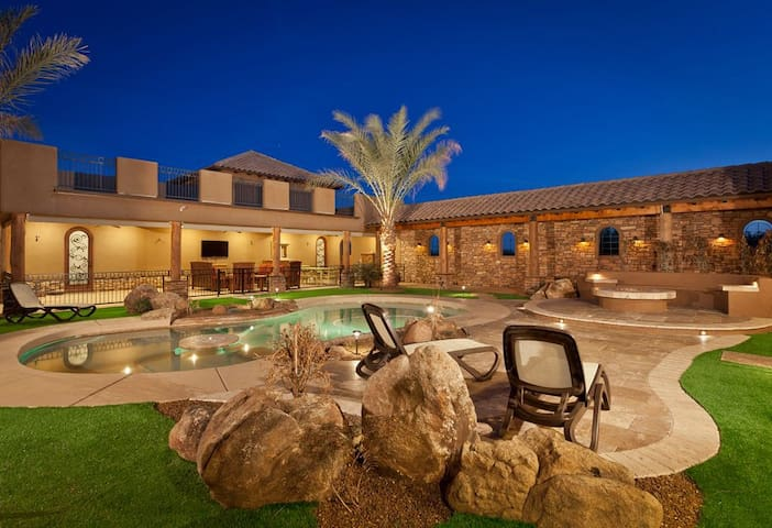 Private Mountain View Home in Scottsdale - Scottsdale - House
