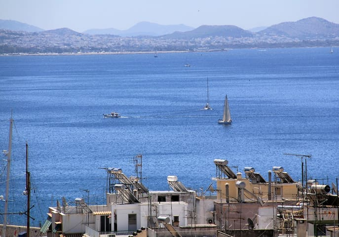 Amazing view apartment in Pireas, Athens