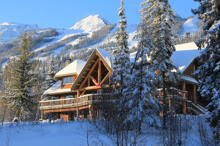 A room with a view at Kicking Horse Resort