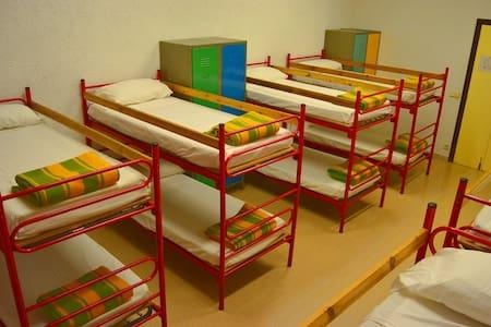 Habitación de 4 plazas en litera - Organyà - Jiné