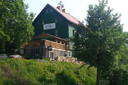 Rodinný hotel Star 1 v Krušných horách - Loučná pod Klínovcem