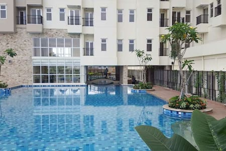 Top Floor 2 BR Apartment with Tangerang City View