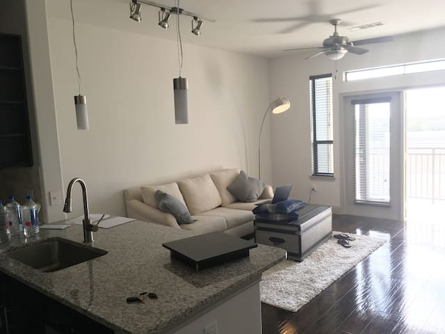Your perfectly located top floor apartment - Houston - Flat