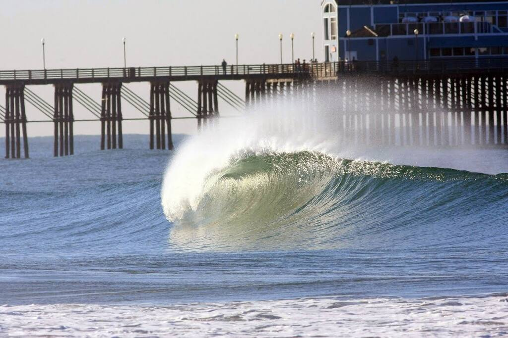 Surf by the pier